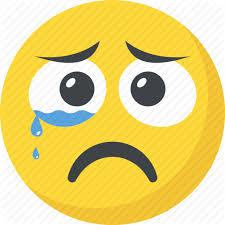 Image result for crying sad face emoji